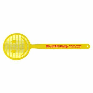 "16"" Smiley Face Round Shaped Flyswatter"