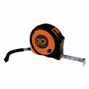 16-Footer Grip Tape Measure with Belt Clip - Strap (16')