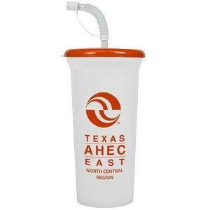 32 oz. Sports Super Sipper Cup with Straw Lid