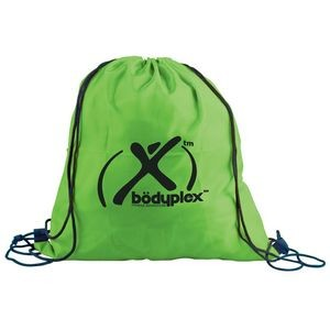 "The Trainer 15"" x 16"" Drawstring Backpack"